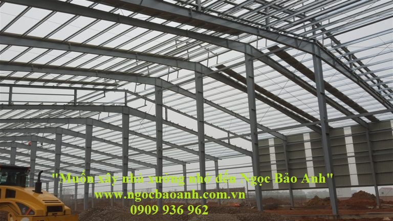 Nhà thầu xây dựng nhà xưởng tại Long An