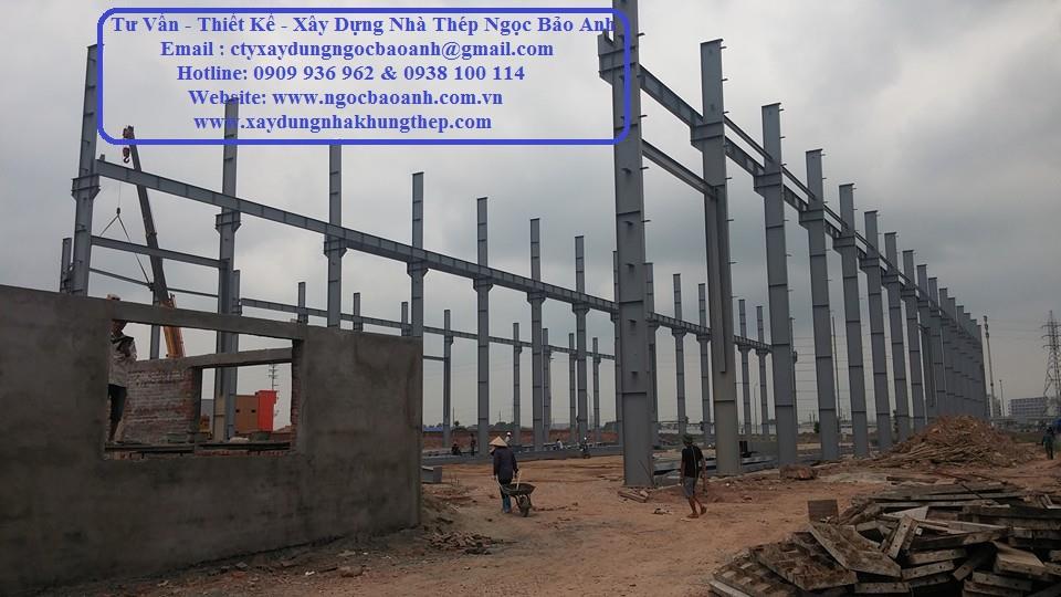 Xây Dựng Nhà Khung Thép Tiền Giang