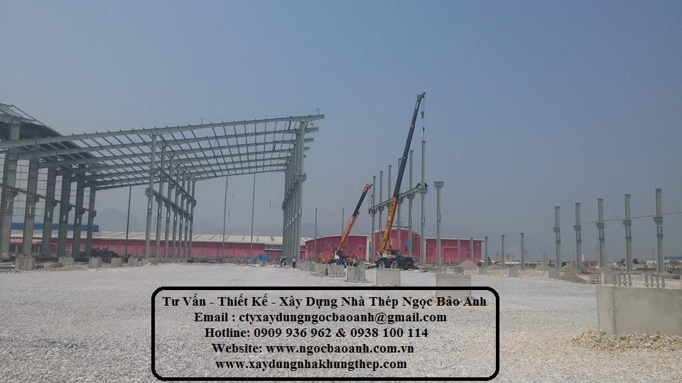 Xây dựng nhà xưởng tại Châu Thành Long An