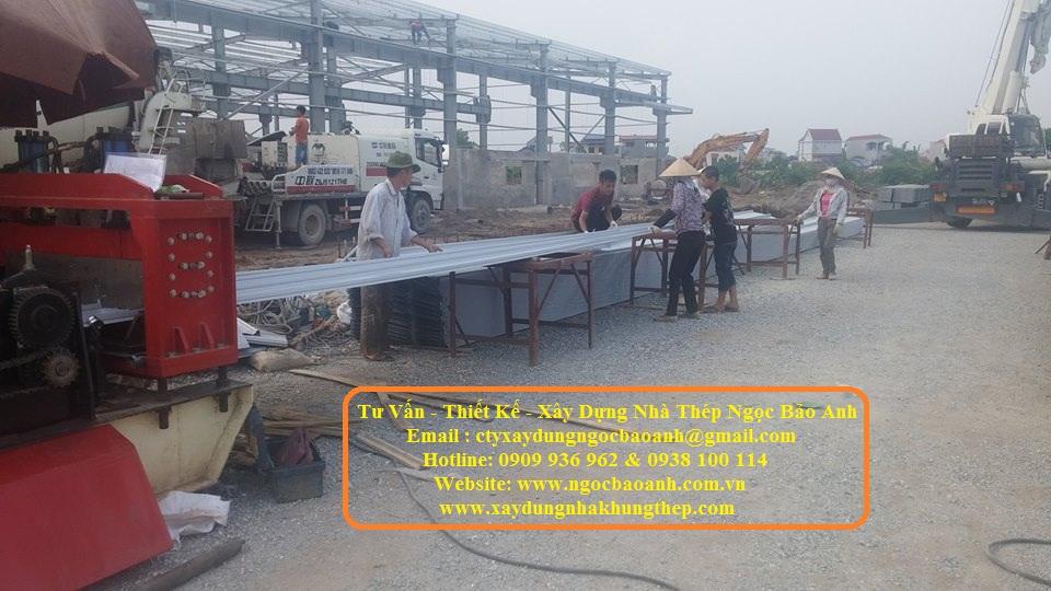 Xây dựng nhà xưởng tại Châu Thành Tiền Giang