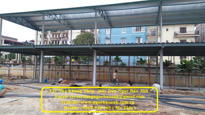 xây dựng nhà khung thép (14)