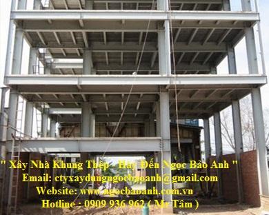 xây dựng nhà khung thép (2)