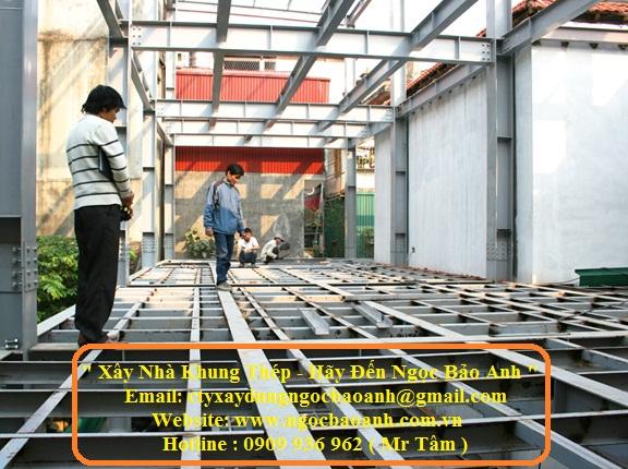 xây dựng nhà khung thép (3)