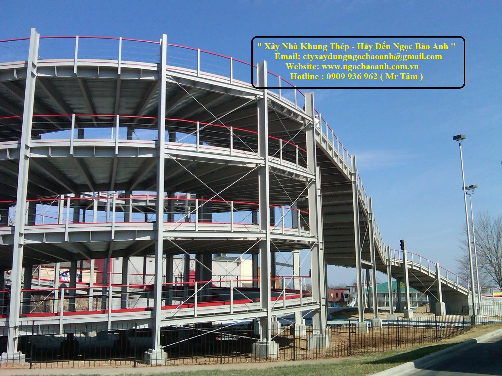 xây dựng nhà khung thép (6)
