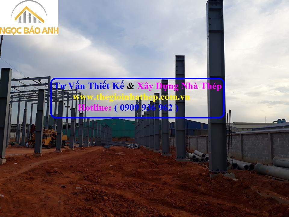 Tư vấn xây dựng nhà xưởng tại Bình Phước