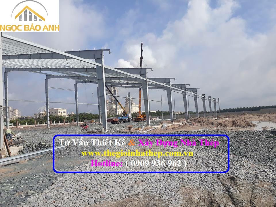 Xây dựng nhà thép tại Long An (10)