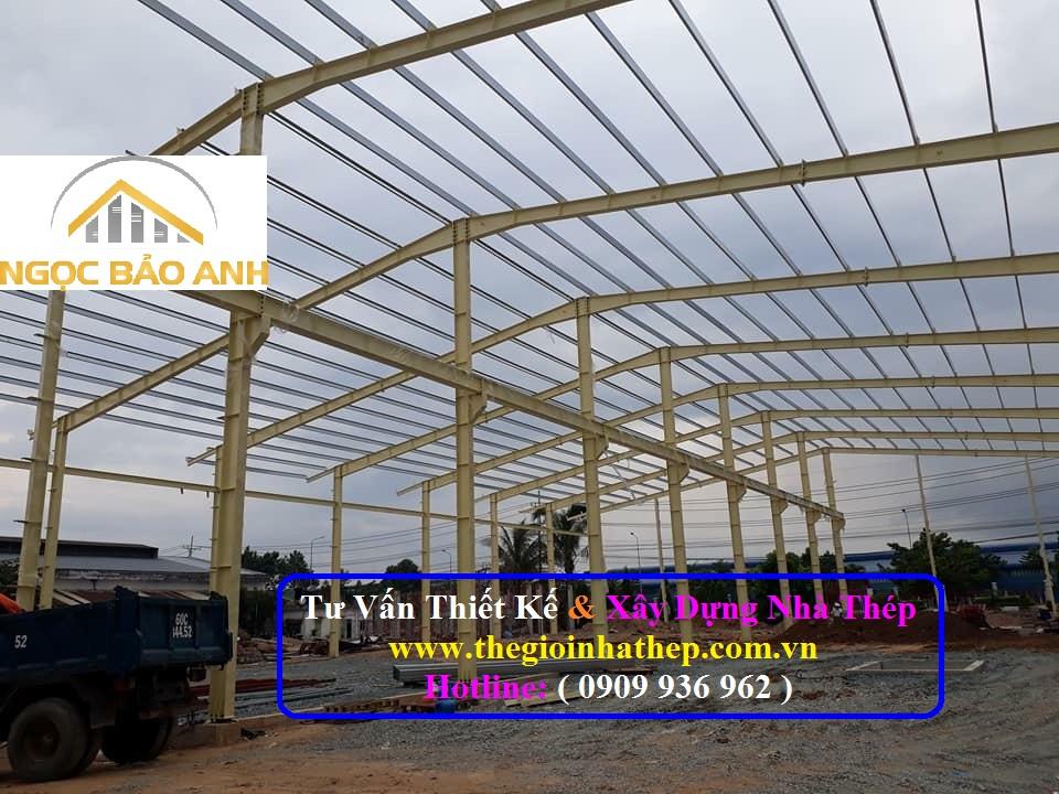 Xây dựng nhà thép tại Long An (4)