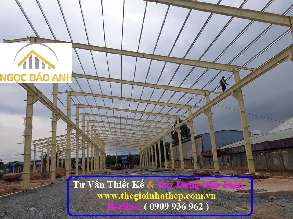 Xây dựng nhà thép tại Long An (5)