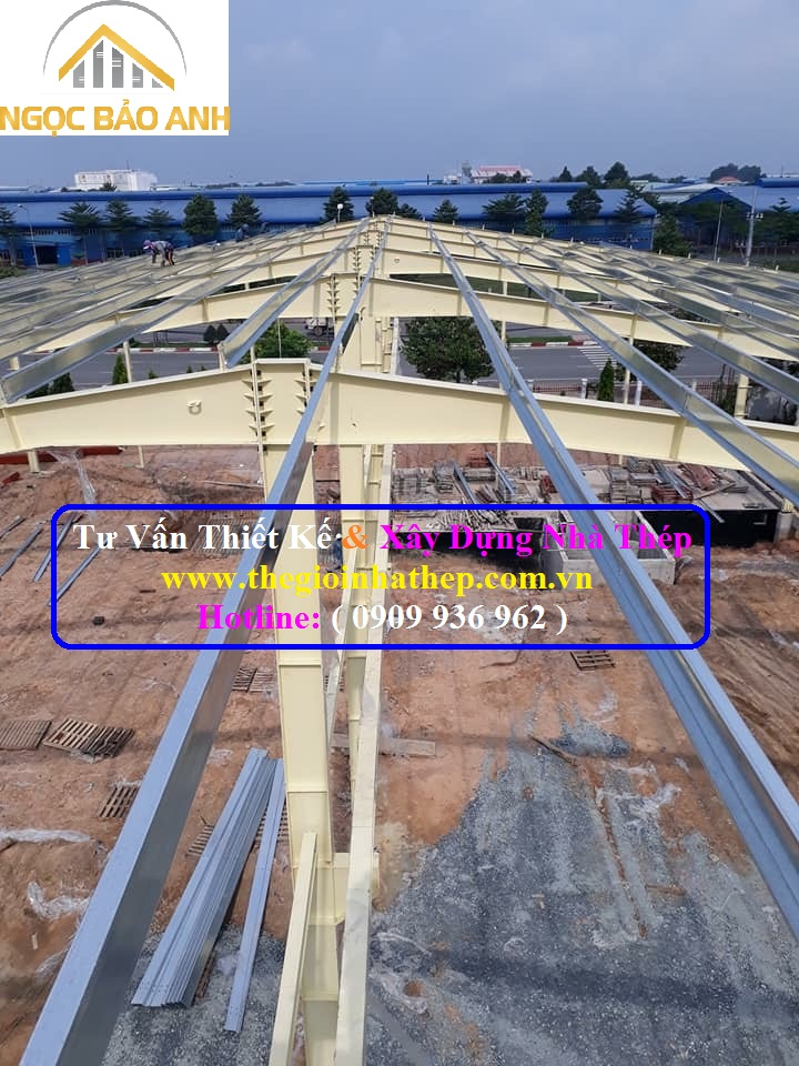 Xây dựng nhà thép tại Long An (6)
