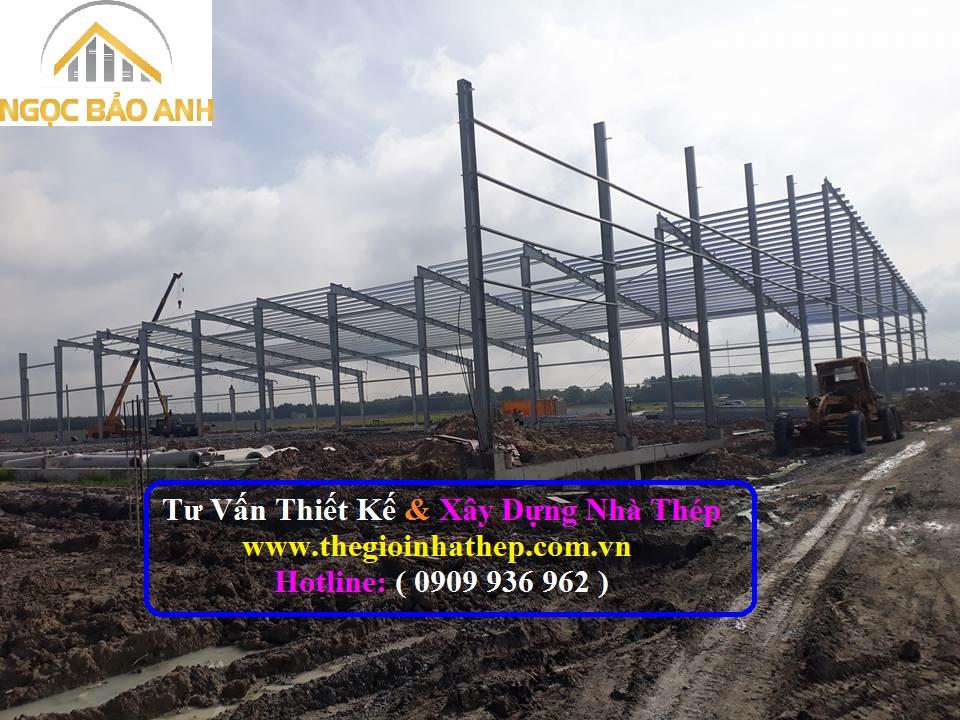 Xây dựng nhà thép tại Long An (7)