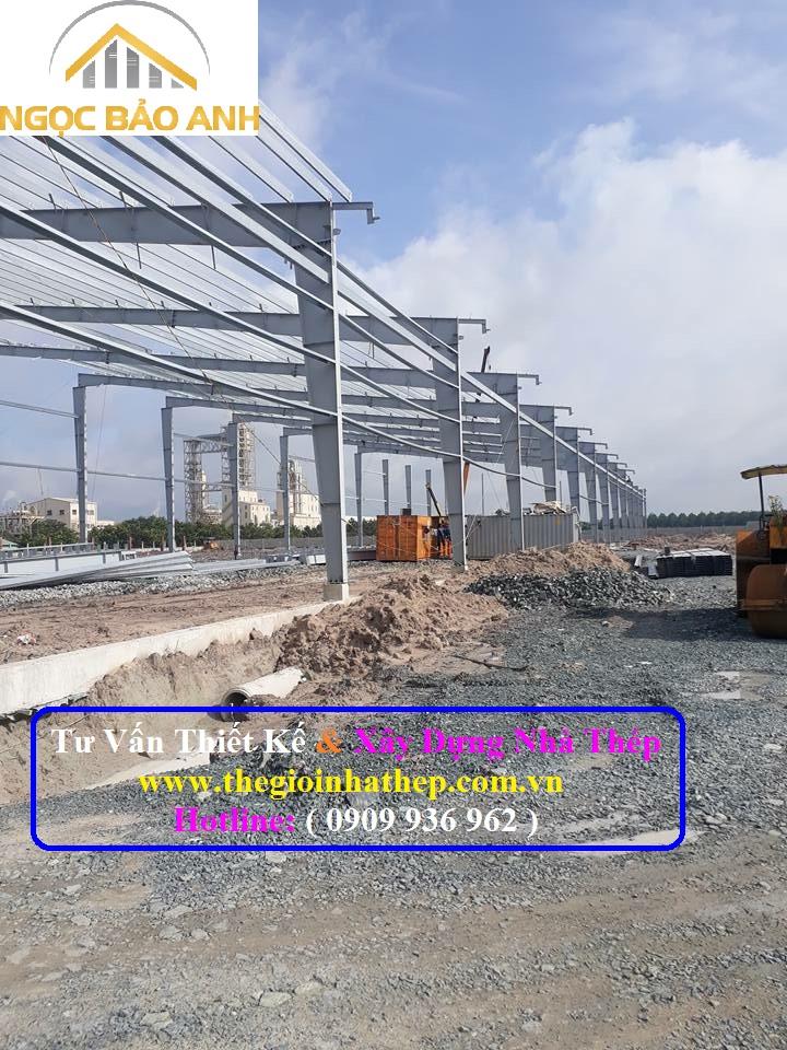 Xây dựng nhà thép tại Long An (8)