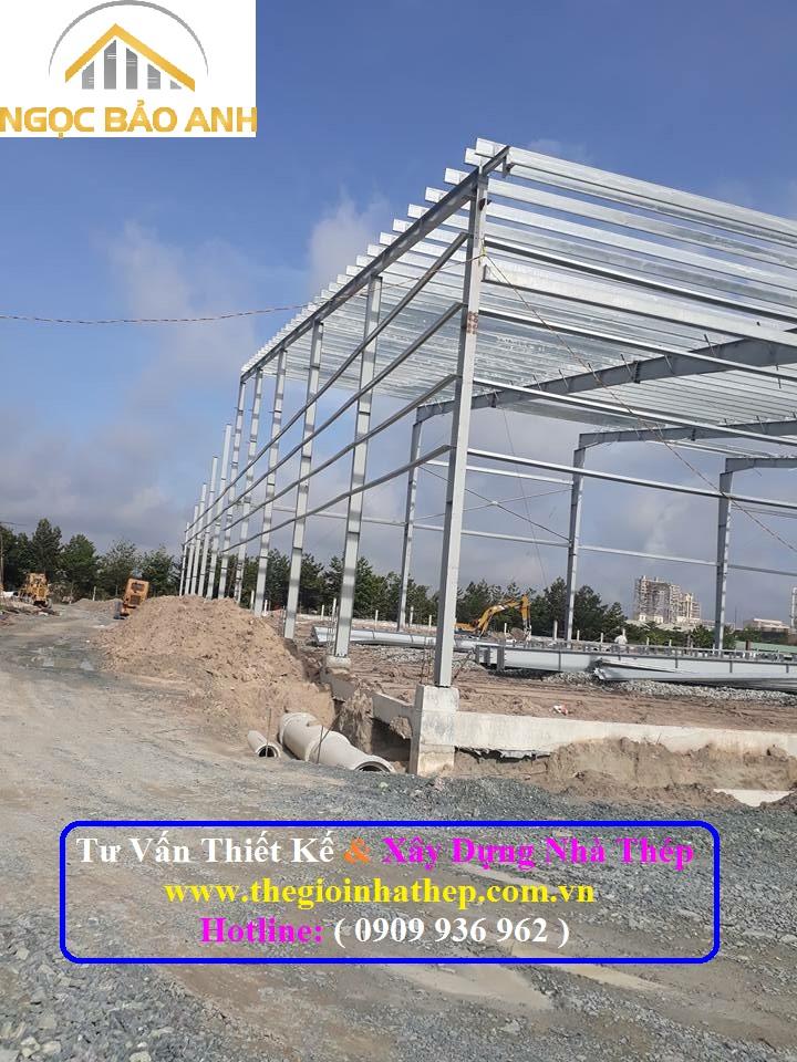 Xây dựng nhà thép tại Long An (9)