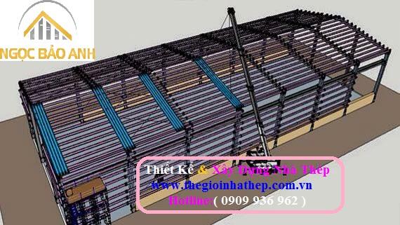 Xây dựng nhà thép tại Nhà Bè (5)
