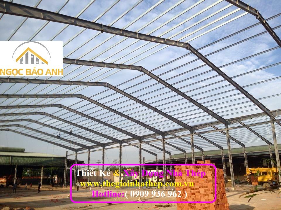 Xây dựng nhà xưởng tại TPHCM (2)