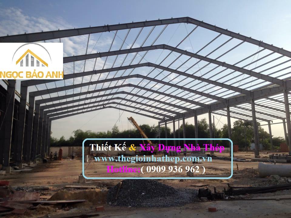 Xây dựng nhà xưởng tại TPHCM (3)