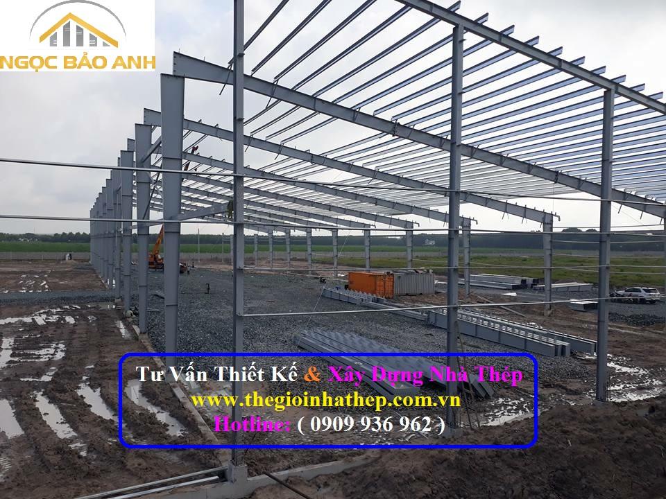 Xây dựng nhà xưởng tại TPHCM (6)