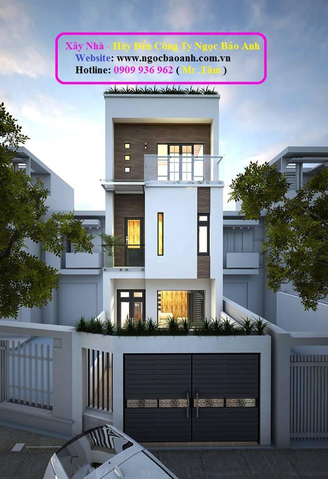 mẫu nhà phố đẹp (3)