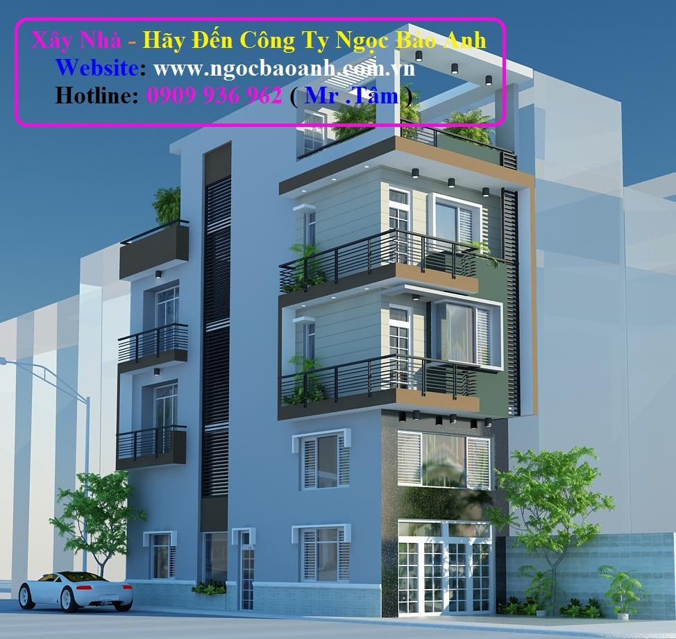 mẫu nhà phố đẹp (5)