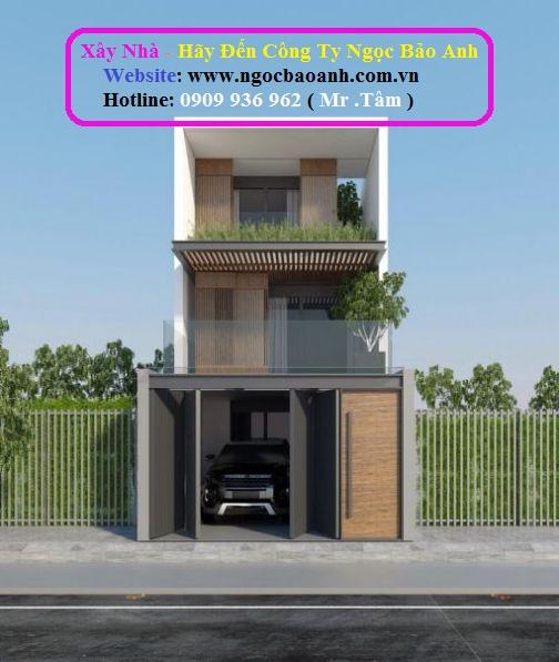 thiết kế nhà phố đẹp (2)