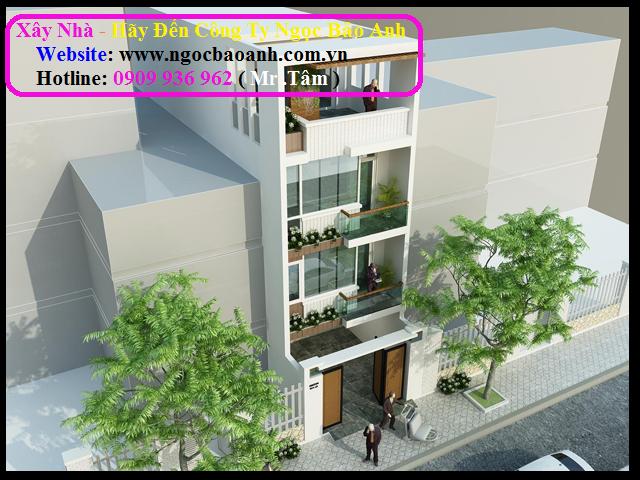 xây dựng nhà phố tại quận 9