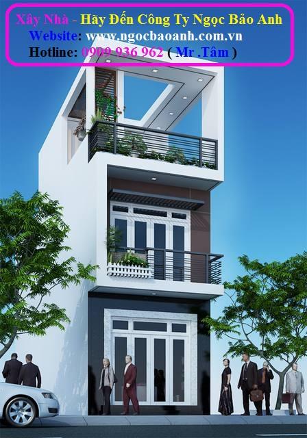 xây dựng nhà phố tại quận thủ đức