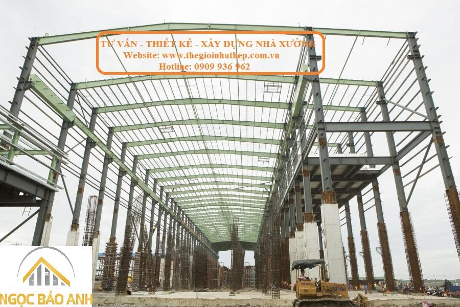 xây dựng nhà khung thép