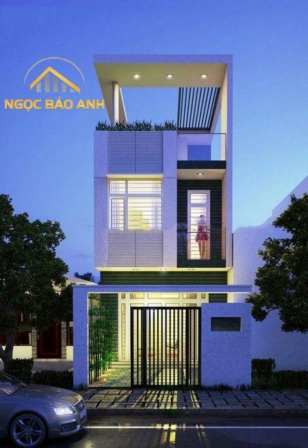 thiết kế nhà phố gò vấp