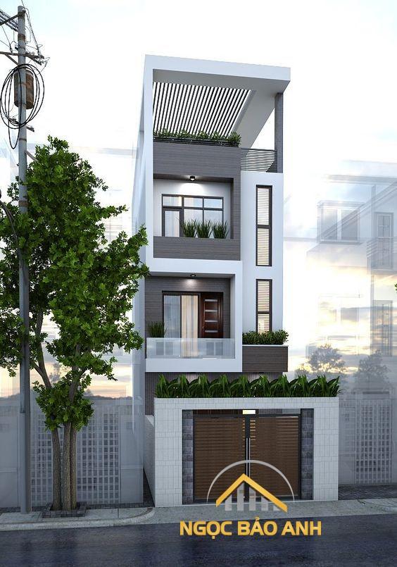 thiết kế nhà phố tại gò vấp