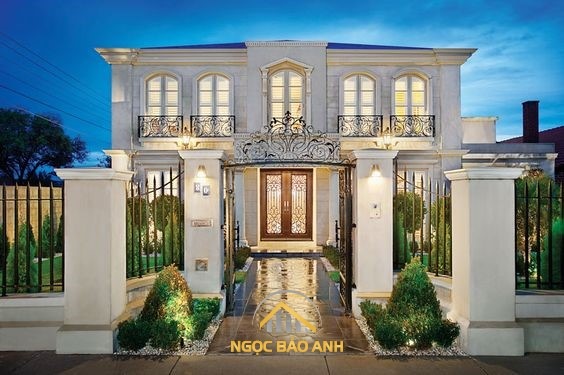 thiết kế xây dựng biệt thự villas