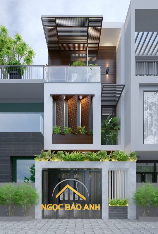 thiết kế xây dựng nhà phố gò vấp