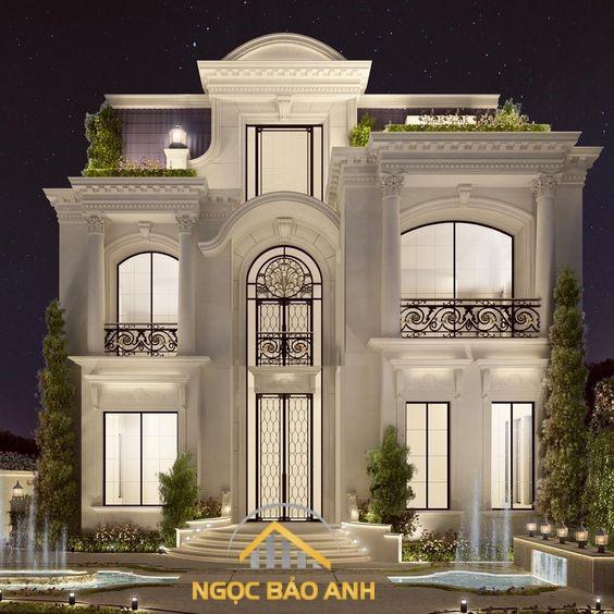 thiết kế xây dựng villas
