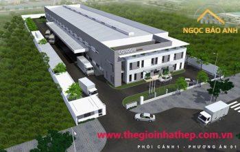 Thiết kế xây dựng nhà xưởng (2)