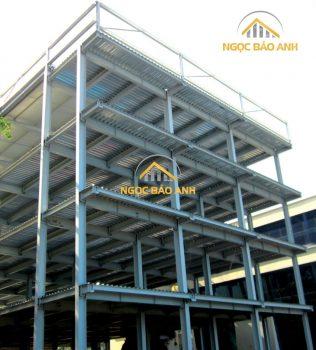 Nhà thép tiền chế 5 tầng Quận 1