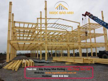 xây dựng khung nhà thép