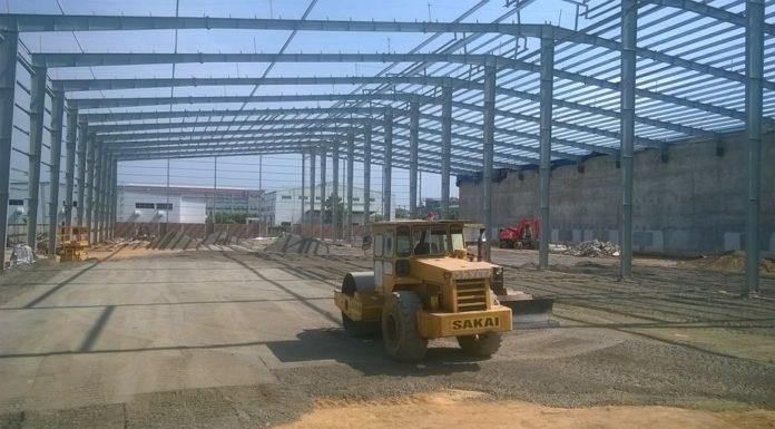 xây dựng nhà máy tại bình dương