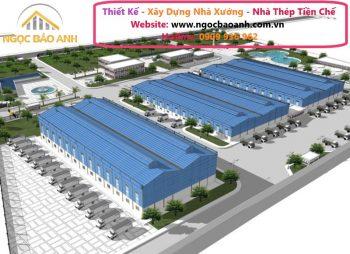 xây dựng nhà xưởng tại KCN Long Hậu Tỉnh Long An (4)
