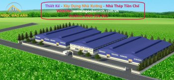 xây dựng nhà xưởng tại KCN Long Hậu Tỉnh Long An (6)