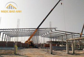 xây dựng nhà xưởng tại kcn mỹ xuân