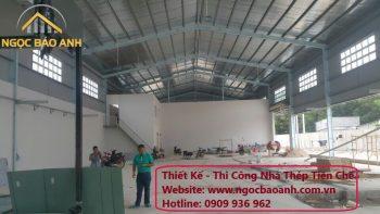 thi công nhà thép tiền chế Thuận An Bình Dương
