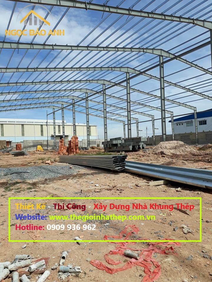 thi công nhà xưởng kết cấu thép (5)