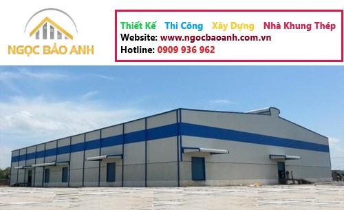 thi công nhà xưởng tại KCN Long Giang Long An (3)