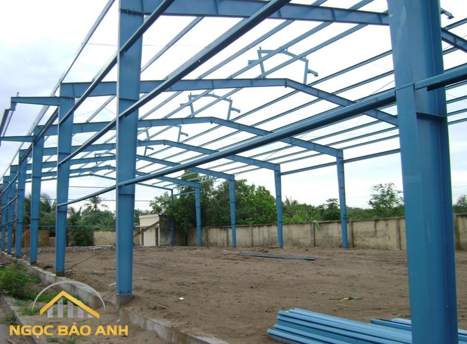 thi công nhà xưởng tại KCN Long Giang Long An (7)