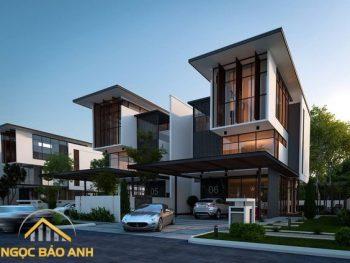 xây dựng nhà phố Bình Chánh