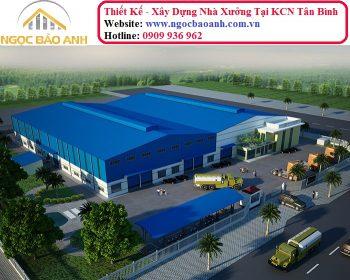 xây dựng nhà thép tiền chế tại Tân Bình