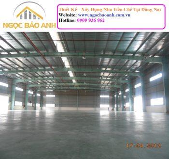 Xây dựng nhà kho Đồng Nai
