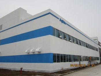 Xây dựng nhà xưởng Fujikin