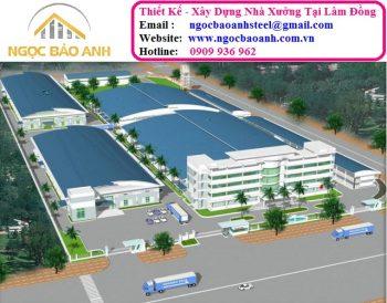 thiết kế xây dựng nhà xưởng tại Lâm Đồng