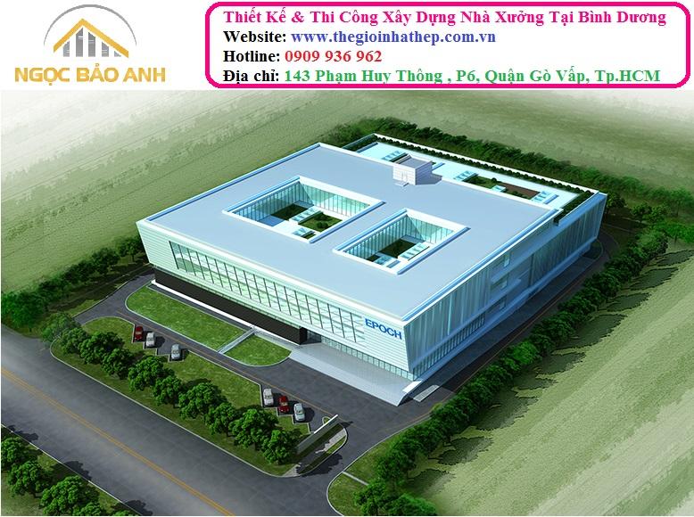 xây dựng nhà xưởng tại Bình Chánh (6)