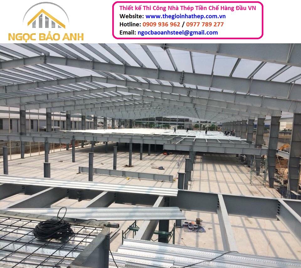 Xây dựng nhà xưởng Bình Phước