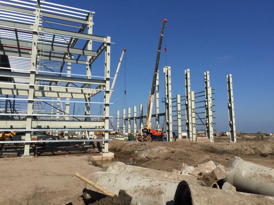 Xây dựng nhà xưởng tại Hóc Môn (3)